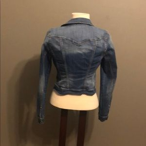 Cropped Size Small Jessica Simpson Jean Jacket